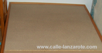 A new piece of chipboard on Lanzarote