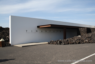 Timanfaya Visitors' Centre in Mancha Blanca