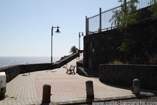 Die Treppen am Ende der Calle Teide in Puerto del Carmen