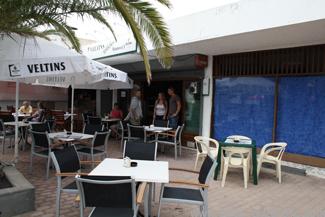 Das Café Hannover in Puerto del Carmen auf Lanzarote