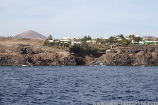 Barranco del Quíquere viewed from the sea
